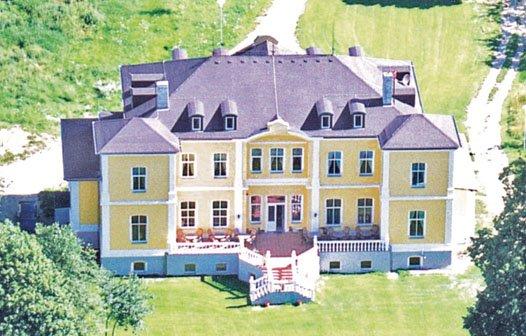 Schloss Schmuggerow Luftaufnahme