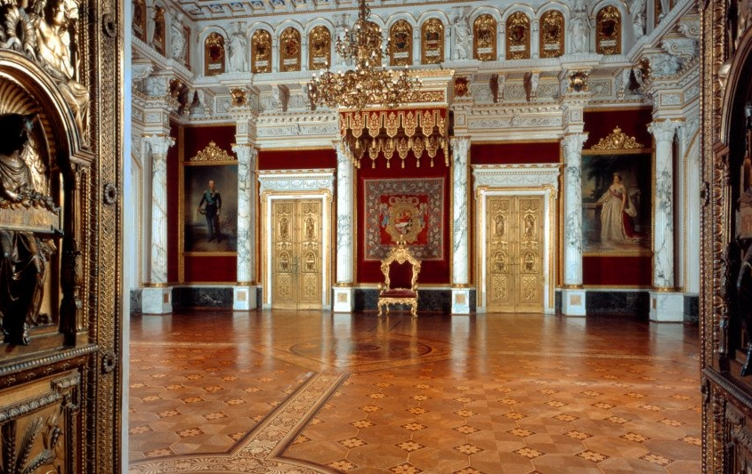 Thronsaal des Schloss Schwerin