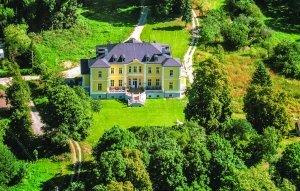 Panoramaansicht Schloss Schmuggerow
