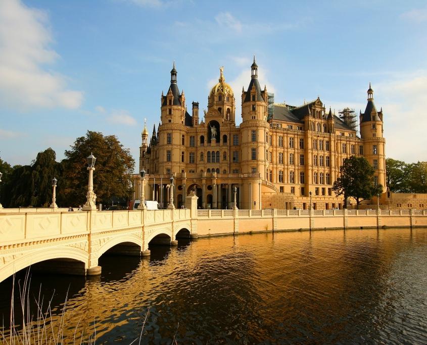 Umgebung des Landhauses Dragun bei Schwerin - Urlaub auf dem Land
